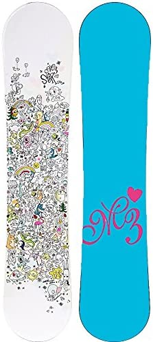 Millinium M3 Star Ez Rocker Girls Womens Snowboard 130,136, or 140cm