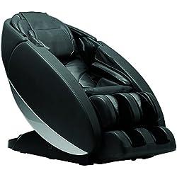 "Human Touch ""Novo"" Full Body Coverage Zero-Gravity L-Track Massage Chair, Black"