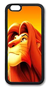 iphone 6 4.7inch Case The Lion King Animal TPU Custom iphone 6 4.7inch Case Cover black