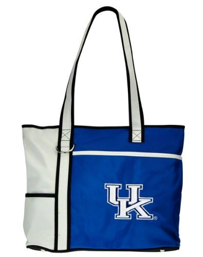 Kentucky Wildcats Tote Bag - Charm14 NCAA Kentucky Wildcats Tote Bag with Embroidered Logo
