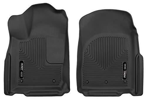 (Husky Liners 53561 Black Front Floor Liners Fits 11-19 Dodge Durango/Jeep Grand)