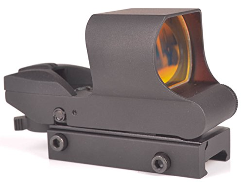 Ozark Armament Reflex Sight - Rail Mount Co-Witness with Large Sun Shade - Multiple Reticle System