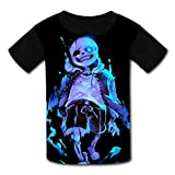 Chengquw Under-Tale Funny Shirt Youth T-Shirt L