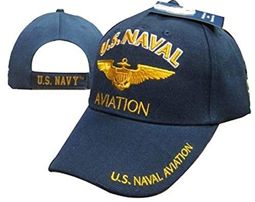 AES U.S. Navy Naval Aviation Ball Cap Baseball Cap Hat (Licensed) ()