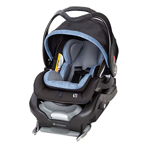 Baby Trend Secure Snap Tech 35 Infant Car Seat, Chambray, Chambray