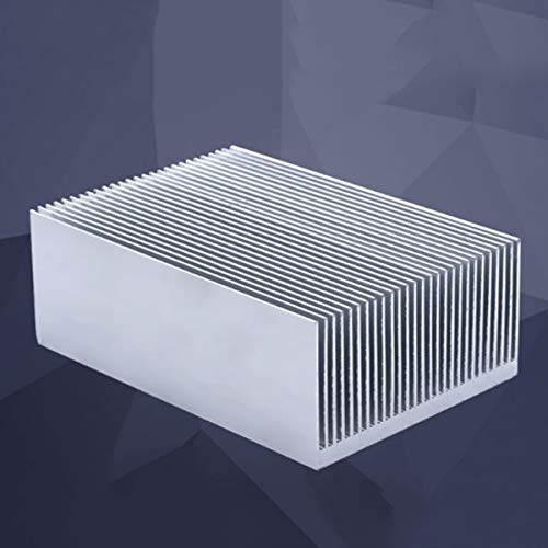 Cailiaoxindong hot-Large Aluminum Heatsink Heat Sink Radiator Cooling Fin for IC LED Power Amplifier