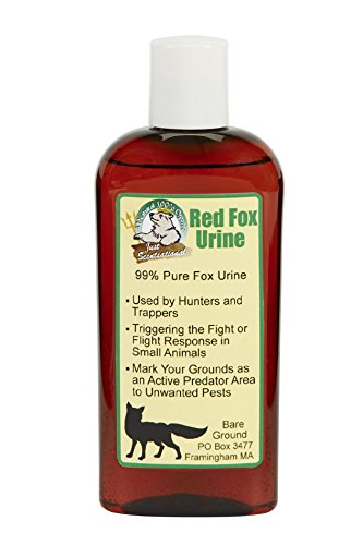 Grey Fox Urine - Just Scentsational FU-4 Red Fox Urine Small Pest Repellent, 4 oz