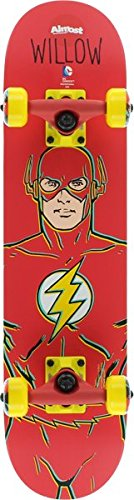 Almost Willow The Flash Micro Complete Skateboard - - Micro Skateboard Deck