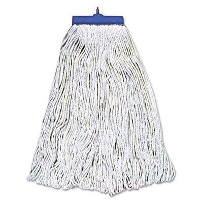 Rayon Fibers Mop Head in White