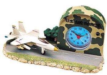 Triple Store Nos aire fuerza ejército F-18 aviones avión reloj despertador