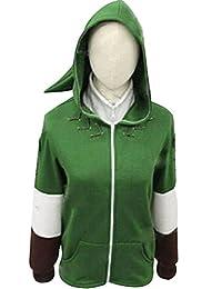 The Legend of Zelda Link Hoodie Coat Sweatshirt with Minish Cap Cosplay Costume