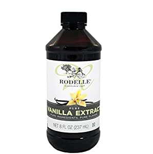 Rodelle Pure Vanilla Extract, 8-Ounce