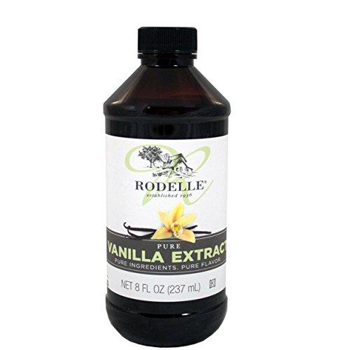 Ingredients Extract Pure Vanilla - Rodelle, Pure Vanilla Extract, 8 oz