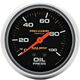 Auto Meter 5421 Liquid-filled Oil Pressure Gauge