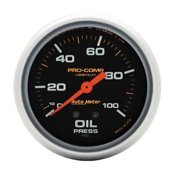 Amazon.com: Auto Meter 5427 Pro-Comp Electric Presión de ...