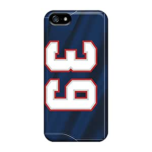 Durable New England Patriots Back Case/cover For Iphone 5/5s