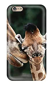 New Mother And Baby Giraffe Tpu Skin Case Compatible With Iphone 6