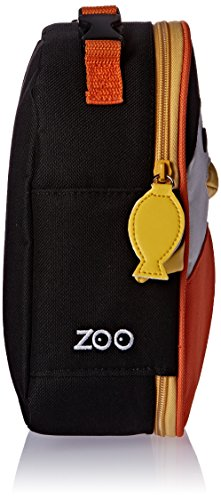 Skip Hop Zoo Lunchie Mini Vespertasche für den Kindergarten, isoliert, mit Namensschild, mehrfarbig, Biene Brooklyn Pinguin