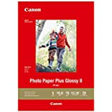 "CanonInk Photo Paper Plus Glossy II 13"" x 19"" 20 Sheets (1432C010)"