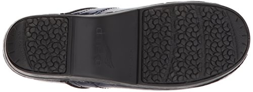 Dansko Womens Pro XP Clog Navy Tooled Patent 5MaadWqc