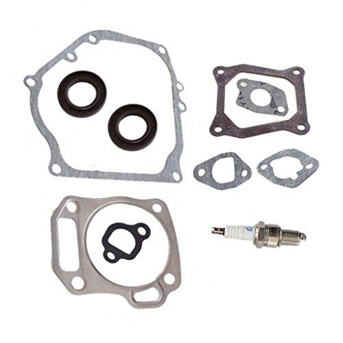 - HURI Cylinder Head Exhaust Muffler Full Gaskets Crankcase Oil Seal for Mini Baja Bike Motorpsorts MB165 MB200 196cc 200cc Gx160 Gx200 5.5HP 6.5HP