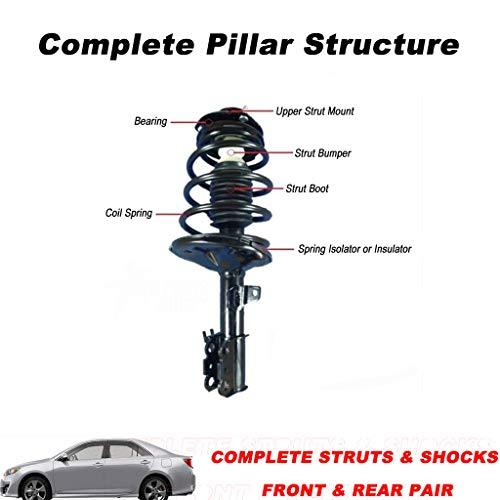 Sonmer Front Driver & Passenger Side Complete Struts & Coil Spring Assemblies Damper for GM by Sonmer_Car Kit (Image #5)