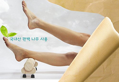 Wood Foot Massage Phytoncide Ankle Pump Ankle pumping exercise Equipment Leg Ankle Calf massage Stretch Acupressure Lymphatic massage Blood circulation Toxin Emission effect