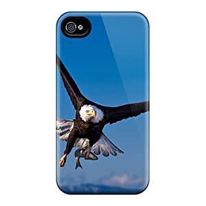 High Quality Maria N Young Bald Eagle In Flight Skin Case Cover Specially Designed For Iphone - 4/4s