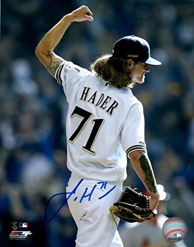 Brewers Josh Hader Autographed Signed 16x20 Photo #10 Auto - 2018 All Star - Haderade - Memorabilia JSA
