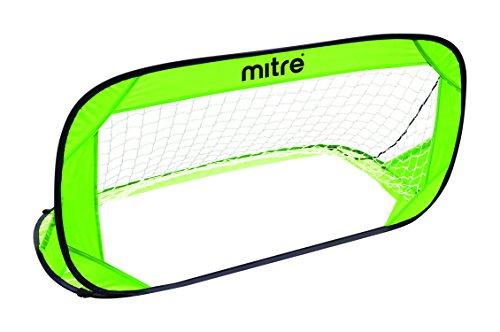 (mitre Pop-Up Soccer Goal, Medium, Green )