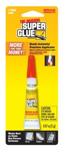 Super Glue Super Glue SGM2-12 Tube, 2-Gram, 12-Pack(Pack of 12) by Super Glue