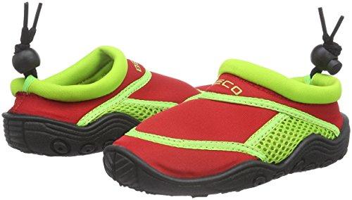 Beco Zapatillas acuáticas de surf para niños rojo