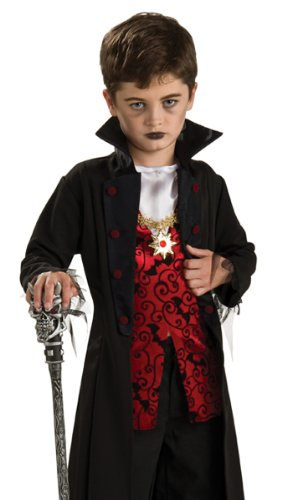 [Rubies Boys Vampire Count Dracula Kids Halloween Costume S] (Toddler Vampire Halloween Costumes)