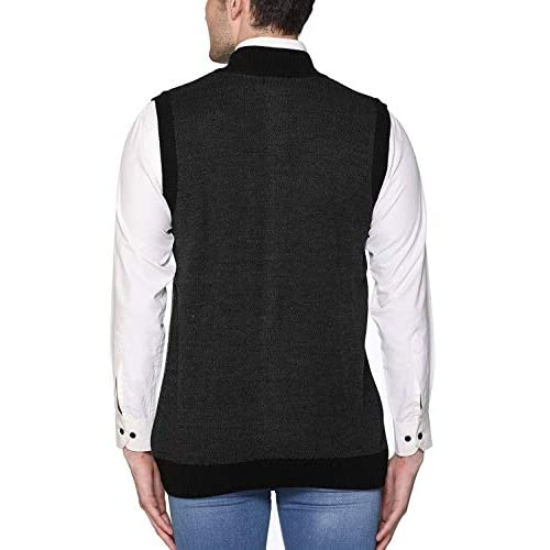 41PGN1S 72L. SS500  - aarbee Sleeveless Zipper Sweater for Men
