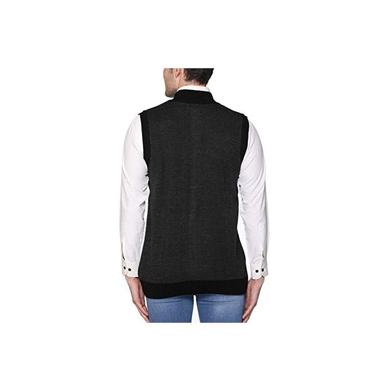 41PGN1S 72L. SS768  - aarbee Sleeveless Zipper Sweater for Men
