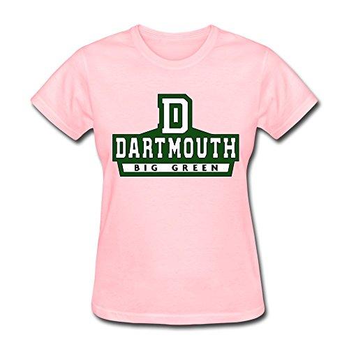 JeFF Women Dartmouth College Logo Shirts Pink Large