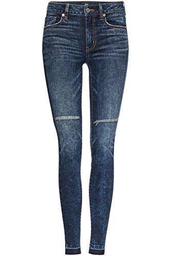 Bleu Skinny FIND Femme Indigo Taille Haute Jean w4TqvBTg