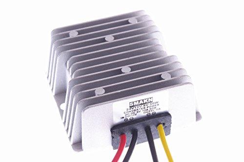 SMAKN Waterproof DC/DC Converter 12V/24V (10-35V) Step Down to 5V/10A 50W Power Supply Module