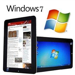 WINDOWS 7 Tablet Pc 2GB RAM/32GB HDD 1 66GHz Intel Atom - WIFI