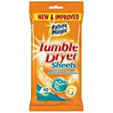 Fabric Magic Tumble Dryer Sheets 40 pack - Condition, Soften & Freshen All Your Washing