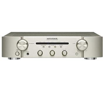 Marantz PM5004/ZIL - Amplificador de audio (2.0, 40 W, 0.01 %, 85 Db, 10 - 50000 Hz, 55 W) Oro, Plata