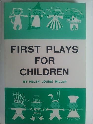 Kostenlose Adio-Buch-Downloads First Plays for Children PDF