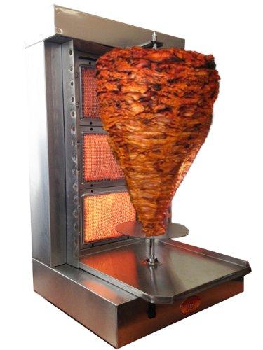 Tacos Al Pastor Machine- Shawarma Machine- Gyro Machine- Doner Kebab Machine-3 Burner- Generation 4