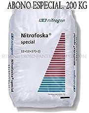 Suinga ABONO Especial Nitrofoska 12+12+12+2+MG+S+B+Zn. 200 Kilos. Recomendado para cítricos y jardín.