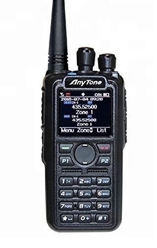 AnyTone AT-D878UV GPS and 2 Free Items !! Updated firmware Upgraded 3100mAh Battery Dual Band DMR/Analog 144 & 480 MHz Radio by AnyTone (Image #6)