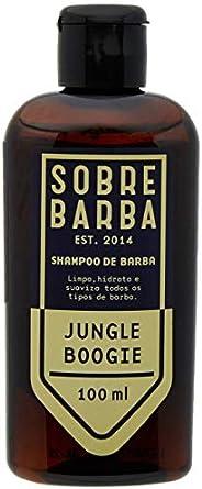 Shampoo de Barba Jungle Boogie, Sobrebarba, Azul, 100 Ml
