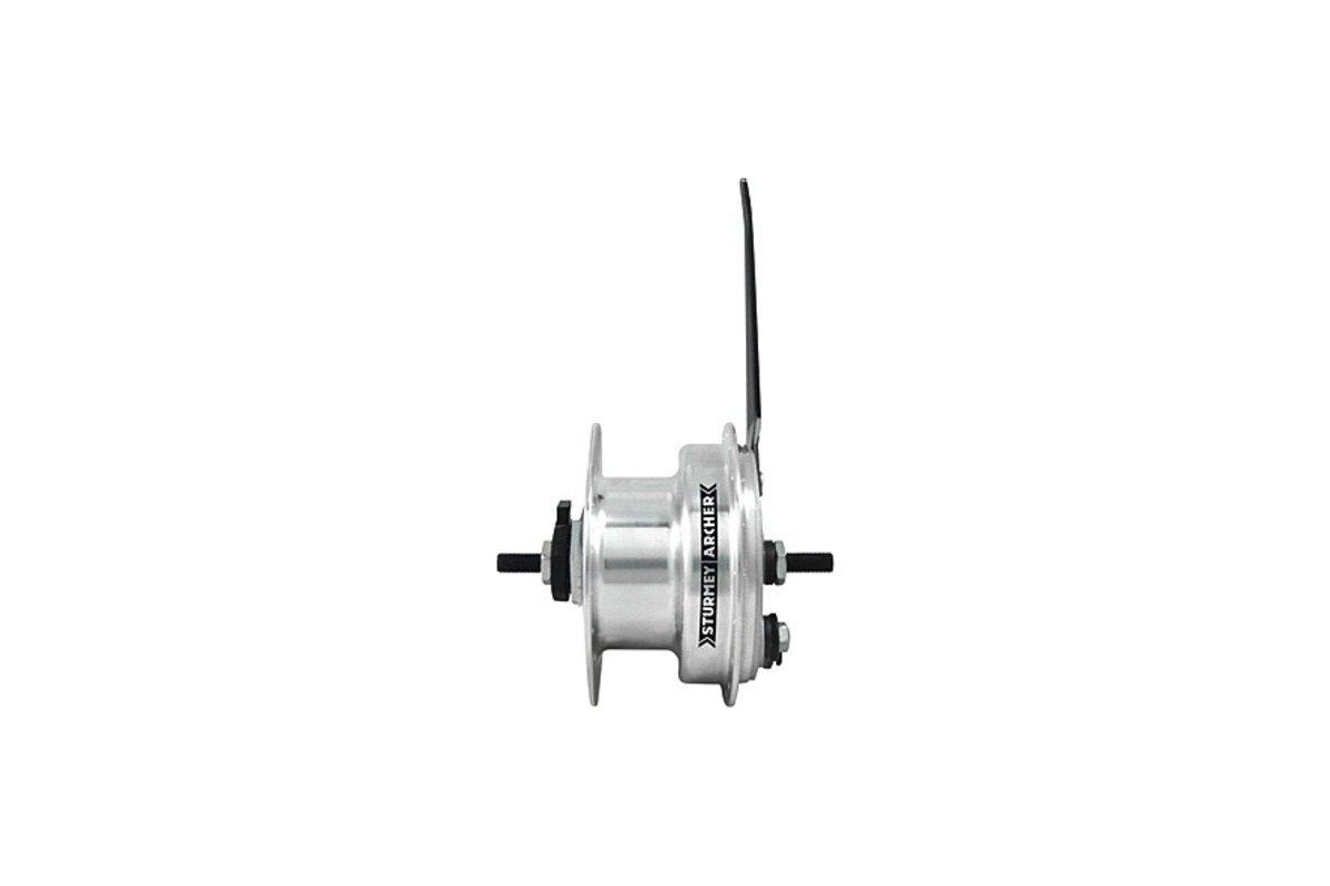 Sturmey-Archer Dynamo 3.0 Front Hub+90mm Drum Brake 36H
