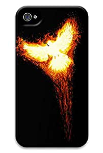 Simply Case Designs Burning Phoenix Design PC Material Hard Case for iphone 4/4s