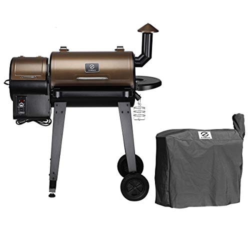 Z GRILLS ZPG-450A Wood Pellet Grill Smoker for Outdoor ...