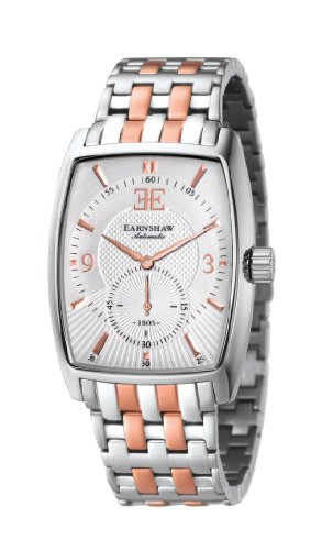 Thomas Earnshaw Men's 'ROBINSON' Automatic Stainless Steel Casual Watch, Color:Two Tone (Model: ES-8009-33)